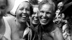 Ote Suursaarella vuonna 1936 kuvatusta filmistä.