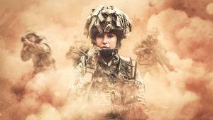 Our Girl-sarjan kolmannen kauden päähenkilö Georgie Lane (Michelle Keegan).