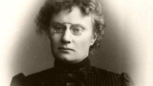 Alma Söderhjelm som ung.