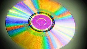 CD-levy, käsitelty kuva