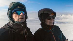 Dokumentti Liisa ja Tuomo Peltolan kohtalokkaasta hiihtovaelluksesta.