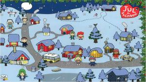 Julkalender. Jul i Svingen.
