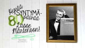 Hyvää syntymäpäivää, Lasse Mårtenson 80v. 24.9.2014