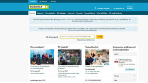 Webbsidan Studieinfo.fi