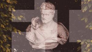 antiikin ajan tyylinen patsas