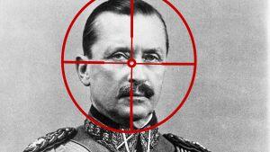 Carl Gustaf Mannerheim i kikarsikte