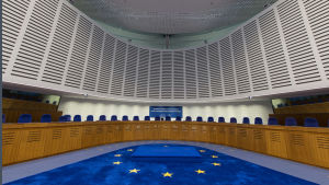 Europadomstolen i Strasbourg.