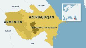 Konflikten i Nagorno-Karabach började år 1991 under Sovjetunionens sönderfall.