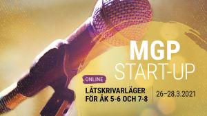 MGP start-up låtskrivarläger 2021