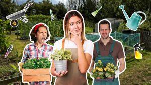 """Kuvituskuva testiin """"Millainen puutarhanhoitaja olet?"""""""