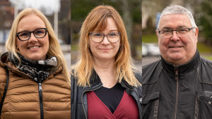 tre personer