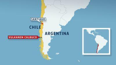 Turister evakuerade i chile