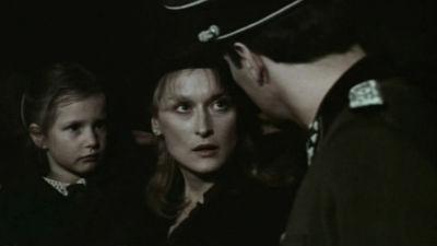 Meryl Streep som Sophie i filmen Sophies val.