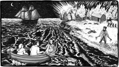 Pimeä historia: Viimeisellä rannalla