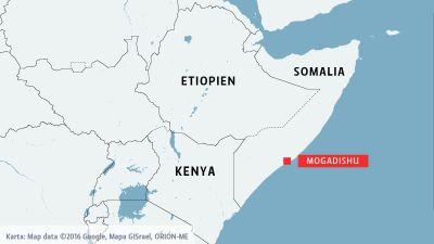Fyra turister kidnappade i somalia