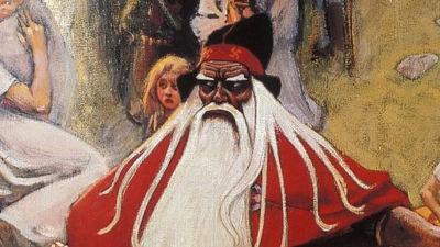 Väinämöinen hjälte i finsk mytologi
