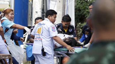 Tusentals burmeser tros ha dott i thailand