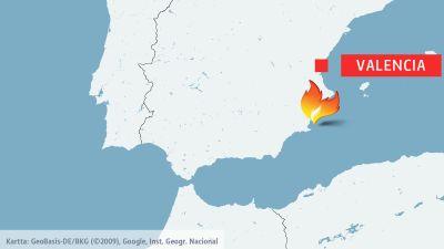 Deurbel Sonnette Db200.Karta Spanien Valencia