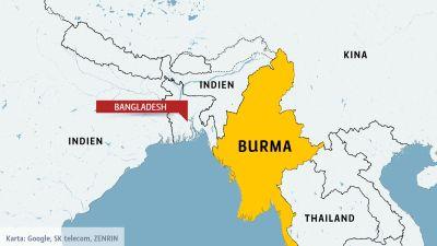 Karta Indien Thailand.Burma Borjade Repatriera Rohingyer Forsta Familjen Anlande Pa