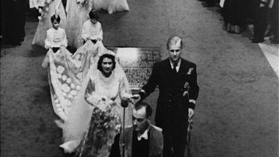 Britannian kruununprinsessa Elizabeth häissään 1947
