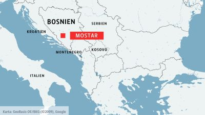 Karta Bosnien Och Hercegovina.Skulle Du Hoppa 30 Meter Ner I Vattnet Fran Den Har Bron I Den Har