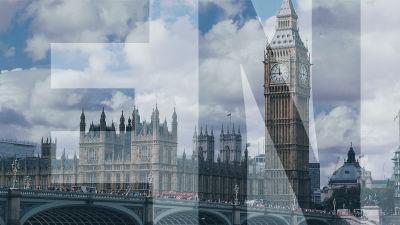 "maisema lontoosta ja päällä teksti ""ENA"""