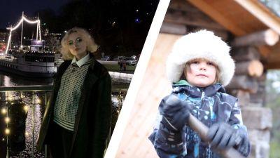 Erika Sirkiä ja Jussa Mikkal Kuusela