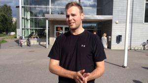 Rasmus Tirronen i Alberga 2015.