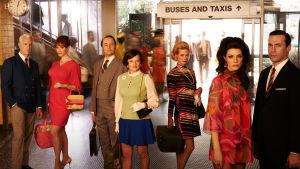 Karaktärer från tv-serien Mad men.
