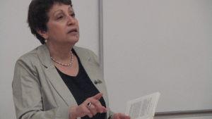 Den ryskjudiska författaren Dina Rubina.