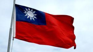 Taiwans flagga.