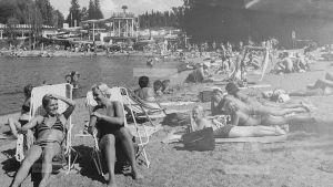 Arkivbild från Lahnajärvi i Salo på 1980-talet