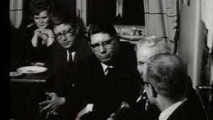 Haastateltavia eduskuntavaalien tulosillassa 1966