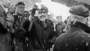 Ihmisiä vappuna 1969