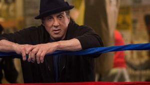 Sylvester Stallone som Rocky Balboa i filmen Creed.