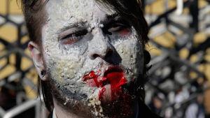 Man utspökad till zombie.