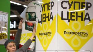 Perekrestok-matbutik i Ryssland