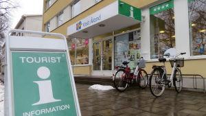 Visit Ålands kontor i Mariehamn.