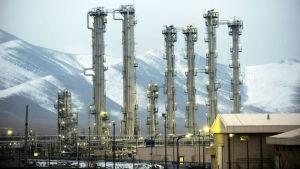 En iransk tungvattenreaktor i staden Arak