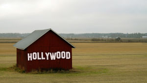 Hollywood, röd lada