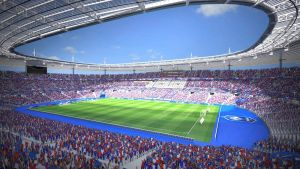 Fotbollsarenan Stade de France.