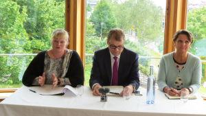 Ministerbesök på Åland