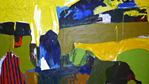 Målning av Eva-Stina Byggmästar