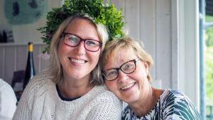 Sigrid Sundells mamma Ilona Mäenpää var aktiv i dotterns vårdplan då psykosen slog till.