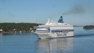 Silja Line på väg mot Åbo