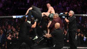 Kaos efter UFC 229.