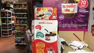 Reakampanj på Nutella fick fransmän att tappa sansen.