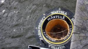 Havssoptunna i Helsingfors.