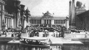 Vy från världsutställningen i St Louis 1904