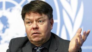 Petteri Taalas, generalsekreterare för Meteorologiska världsorganisationen WMO.